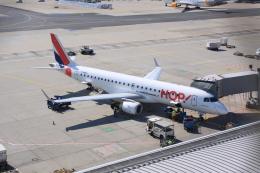 しかばねさんが、フランクフルト国際空港で撮影したエールフランス・オップ! ERJ-190-100(ERJ-190STD)の航空フォト(飛行機 写真・画像)