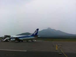 cocktail27さんが、利尻空港で撮影した全日空の航空フォト(飛行機 写真・画像)