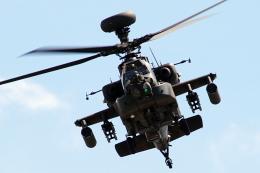 キョマカイちゃんさんが、久留米駐屯地で撮影した陸上自衛隊 AH-64Dの航空フォト(飛行機 写真・画像)