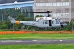 はるかのパパさんが、東京臨海広域防災公園ヘリポートで撮影したアメリカ空軍 UH-1Nの航空フォト(写真)