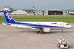 菊池 正人さんが、名古屋飛行場で撮影した全日空 A320-211の航空フォト(写真)