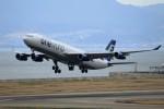 T.Sazenさんが、関西国際空港で撮影したフィンエアー A340-313Xの航空フォト(写真)