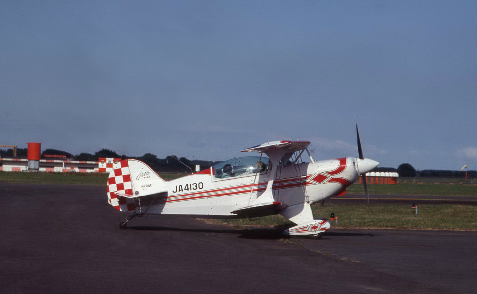 kumagorouさんの日本個人所有 Pitts S-2 Special (JA4130) 航空フォト