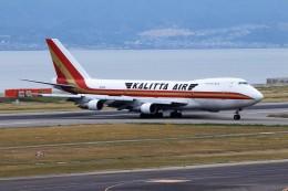 T.Sazenさんが、関西国際空港で撮影したカリッタ エア 747-209B(SF)の航空フォト(飛行機 写真・画像)
