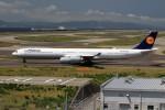 T.Sazenさんが、関西国際空港で撮影したルフトハンザドイツ航空 A340-642の航空フォト(写真)