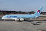 Scotchさんが、成田国際空港で撮影した大韓航空 A380-861の航空フォト(写真)