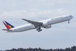 Scotchさんが、成田国際空港で撮影したフィリピン航空 777-36N/ERの航空フォト(飛行機 写真・画像)