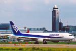 菊池 正人さんが、成田国際空港で撮影した全日空 767-381F/ERの航空フォト(写真)