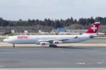 Scotchさんが、成田国際空港で撮影したスイスインターナショナルエアラインズ A340-313Xの航空フォト(飛行機 写真・画像)