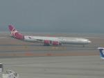 Shibataさんが、中部国際空港で撮影したヴァージン・アトランティック航空 A340-642の航空フォト(写真)