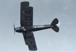 TKOさんが、オールド・ラインベック飛行場で撮影したアメリカ個人所有 DH.82A Tiger Mothの航空フォト(写真)