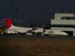 Shibataさんが、松本空港で撮影した日本エアコミューター DHC-8-402Q Dash 8の航空フォト(飛行機 写真・画像)