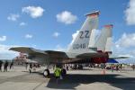 kon chanさんが、普天間飛行場で撮影したアメリカ空軍 F-15D-35-MC Eagleの航空フォト(写真)
