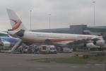 セブンさんが、アムステルダム・スキポール国際空港で撮影したスリナム・エアウェイズ A340-313Xの航空フォト(飛行機 写真・画像)