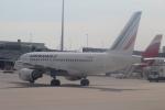 セブンさんが、ミュンヘン・フランツヨーゼフシュトラウス空港で撮影したエールフランス航空 A318-111の航空フォト(写真)