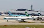 ハピネスさんが、関西国際空港で撮影したキャセイパシフィック航空 A330-343Xの航空フォト(飛行機 写真・画像)