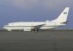 RA-86141さんが、中部国際空港で撮影したサウジアラビア王室空軍 737-7DP BBJの航空フォト(写真)
