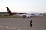 北の熊さんが、新千歳空港で撮影した三菱航空機 MRJ90STDの航空フォト(写真)