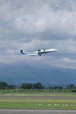 pringlesさんが、鹿児島空港で撮影したANAウイングス DHC-8-402Q Dash 8の航空フォト(写真)