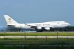 RUSSIANSKIさんが、クアラルンプール国際空港で撮影したサウジアラビア航空 747-4H6の航空フォト(飛行機 写真・画像)