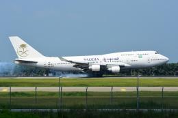 RUSSIANSKIさんが、クアラルンプール国際空港で撮影したサウジアラビア航空 747-4H6の航空フォト(写真)