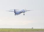サボリーマンさんが、松山空港で撮影したANAウイングス DHC-8-402Q Dash 8の航空フォト(写真)