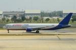 RUSSIANSKIさんが、ドンムアン空港で撮影したオリエント・タイ航空 767-3T7/ERの航空フォト(飛行機 写真・画像)