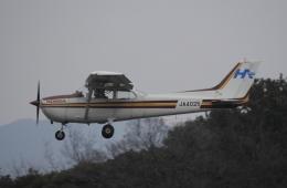 ありさんが、名古屋飛行場で撮影した本田航空 172P Skyhawk IIの航空フォト(飛行機 写真・画像)