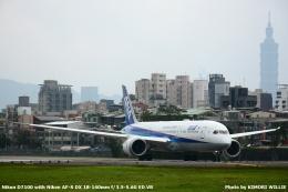 WANGさんが、台北松山空港で撮影した全日空 787-9の航空フォト(飛行機 写真・画像)