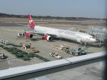 Shibataさんが、成田国際空港で撮影したヴァージン・アトランティック航空 A340-642の航空フォト(写真)