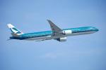 keikei123さんが、香港国際空港で撮影したキャセイパシフィック航空 777-367/ERの航空フォト(写真)