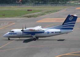 セブンさんが、新千歳空港で撮影したオーロラ DHC-8-201 Dash 8の航空フォト(飛行機 写真・画像)