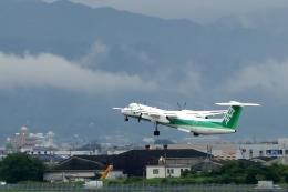 Apocalypse Nowさんが、松山空港で撮影したANAウイングス DHC-8-402Q Dash 8の航空フォト(写真)
