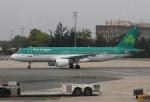 セブンさんが、パリ シャルル・ド・ゴール国際空港で撮影したエア・リンガス A320-214の航空フォト(飛行機 写真・画像)