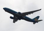 セブンさんが、関西国際空港で撮影したベトナム航空 A330-223の航空フォト(飛行機 写真・画像)