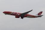 セブンさんが、関西国際空港で撮影したエアアジア・エックス A330-343Eの航空フォト(飛行機 写真・画像)