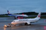 サボリーマンさんが、広島空港で撮影した日本航空 737-846の航空フォト(写真)