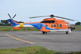 kumagorouさんが、仙台空港で撮影したティー・エム・シー・インターナショナル AS332L1 Super Pumaの航空フォト(飛行機 写真・画像)