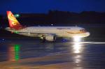 サボリーマンさんが、広島空港で撮影した香港エクスプレス A320-214の航空フォト(写真)