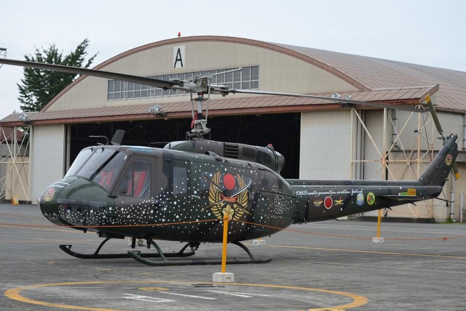 hirokongさんの陸上自衛隊 Fuji UH-1H (41714) 航空フォト