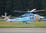voyagerさんが、花巻空港で撮影した宮城県警察 AW139の航空フォト(飛行機 写真・画像)