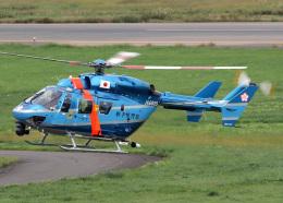 voyagerさんが、花巻空港で撮影した岩手県警察 BK117C-1の航空フォト(飛行機 写真・画像)