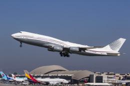 航空フォト:A7-HBJ カタールアミリフライト 747-8