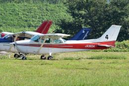 tsubasa0624さんが、ホンダエアポートで撮影した本田航空 172P Skyhawkの航空フォト(飛行機 写真・画像)