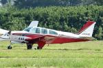 tsubasa0624さんが、ホンダエアポートで撮影した航空大学校 E33 Bonanzaの航空フォト(写真)