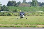 tsubasa0624さんが、ホンダエアポートで撮影した協同測量社 T206H Turbo Stationair TCの航空フォト(写真)