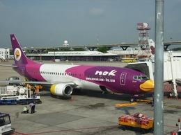 kingmengraiさんが、ドンムアン空港で撮影したノックエア 737-4D7の航空フォト(飛行機 写真・画像)
