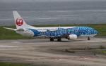 セブンさんが、関西国際空港で撮影した日本トランスオーシャン航空 737-4Q3の航空フォト(飛行機 写真・画像)
