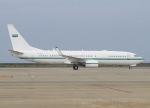 DEE JAYさんが、中部国際空港で撮影したサウジアラビア王室空軍 737-8DP BBJ2の航空フォト(飛行機 写真・画像)