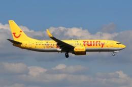ぼんやりしまちゃんさんが、フランクフルト国際空港で撮影したトゥイフライ 737-8K5の航空フォト(飛行機 写真・画像)